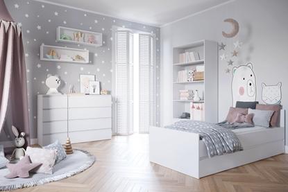 Attēls no Cama living room furniture set COCO7 (C8+2xC12+C3+C4+C7) white mat