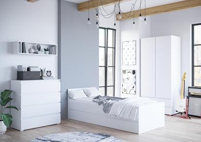 Attēls no Cama living room furniture set COCO8 (C8+C12+C4+C2) white mat