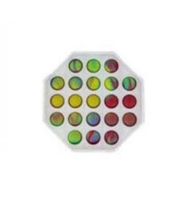 Изображение Antistresā rotaļlieta POP IT Fidget Toy Astoņstūris (Plastmasa) PI-SD-8STURIS
