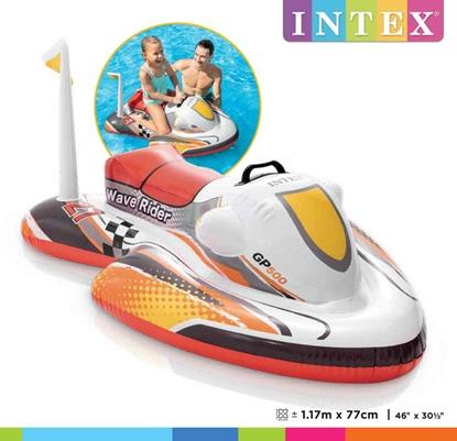 Изображение Intex Wave Rider Ride-On Multicolor, 117 x 77 cm, Age 3+