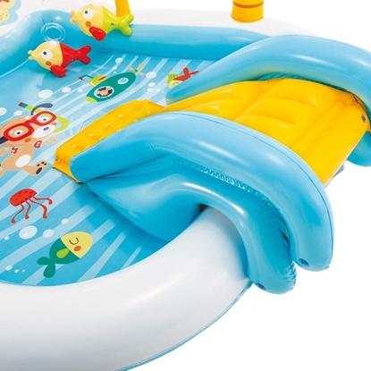 Изображение Intex Fishing Fun Water Play Centre Rectangular, Multi Colour,  Age 3+, 188 x 218 x 99 cm
