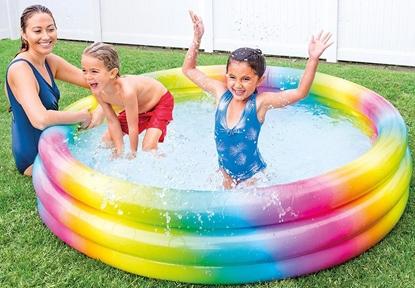 Изображение Intex Rainbow Ombre Pool Multi Color, 168 x 38cm, Age 2+
