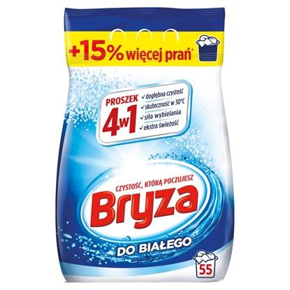 Attēls no Bryza 4in1 Washing Machine Detergent Powder for white fabrics 3,575 kg / 55