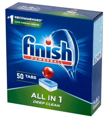 Изображение FINISH ALL-IN-1 Dishwasher tablets 800 g 50 pc(s)