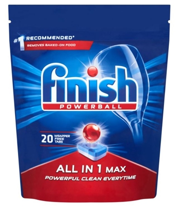 Изображение FINISH ALL-IN-1 MAX Dishwasher tablets 320 g 20 pc(s)