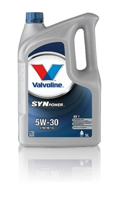 Изображение VALVOLINE Motoreļļa  SYNPOWER DX1 5W30 5L,