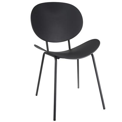 Изображение Krēsls ARECO 50x55xH79.5cm pelēks