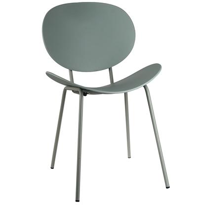 Изображение Krēsls ARECO 50x55xH79.5cm zaļš