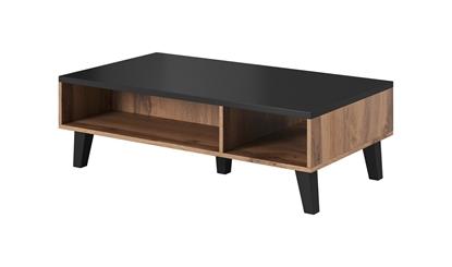 Изображение Cama LOTTA 110 coffee table wotan oak/mat black