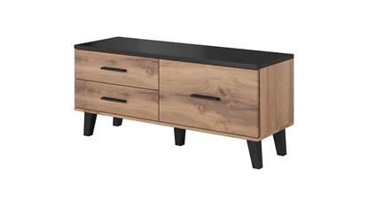 Изображение Cama RTV stand LOTTA 120cm wotan oak + mat black