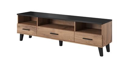 Изображение Cama RTV stand LOTTA 180cm wotan oak + mat black