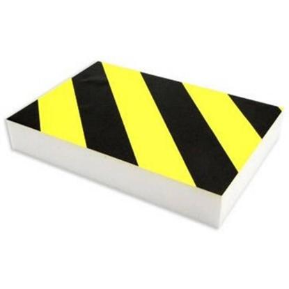 Изображение Aisargpolsteris melns ar dzeltenu 29.5*19.5*4.5cm