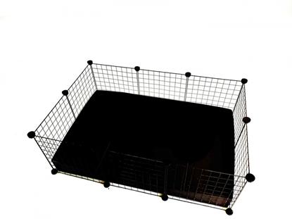 Изображение C&C Modular cage 3x2 110x75 cm guinea pig, hedgehog, black