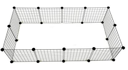 Изображение C&C Modular dog kennel 145x75x37 cm