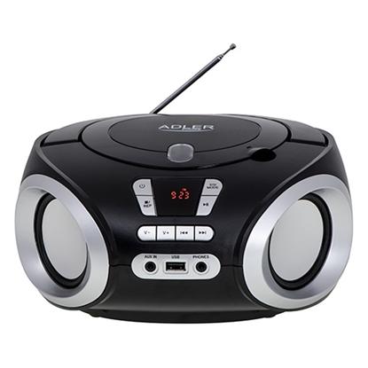 Изображение Adler AD 1181 CD/MP3/USB/FM BOOMBOX