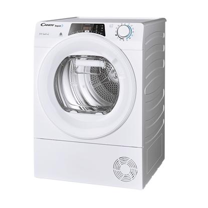 Изображение Candy Dryer Machine ROE H10A2TE-S  Energy efficiency class A++, Front loading, 10 kg, Heat pump, Big Digit, Depth 58.5 cm, Wi-Fi, White
