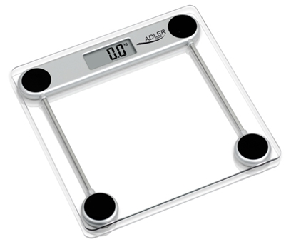 Attēls no Adler AD 8121 personal scale Electronic personal scale Square Transparent