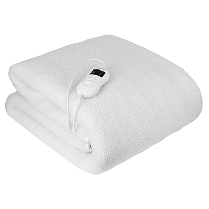 Picture of Camry CR 7422 electric blanket 85 W White Polyester, Synthetic wool