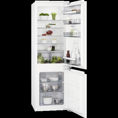Attēls no AEG iebūvējams ledusskapis (saldētava apakšā),176.9 cm, F , balts