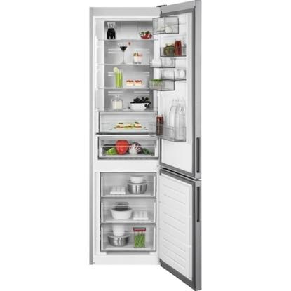 Изображение AEG ledusskapis, 201 cm (saldētava apakšā) (pelēks)