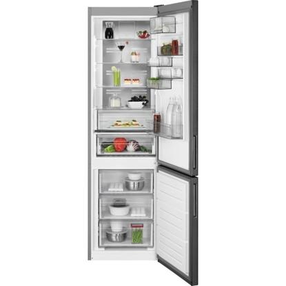 Изображение Akcija! AEG ledusskapis, 201 cm (saldētava apakšā) (melns)