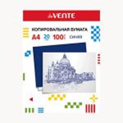 Picture of Kopējamais papīrs A4,  100 loksnes,  zila krāsa,  deVENTE