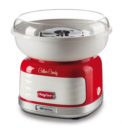 Attēls no ARIETE Cotton Candy 2973/00 Partytime candy floss maker 500 W Red