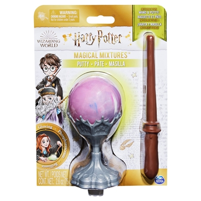 Изображение Wizarding World Harry Potter, Magical Mixtures Activity Set with Glow in the Dark Putty and Harry Potter Wand