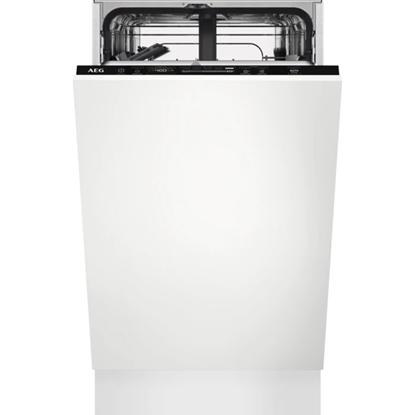 Изображение AEG Iebūvējama trauku mazgājamā mašīna,   (9 komplektiem)