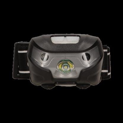Изображение 3W 120lm LED galvas lukturis, ar sensoru un USB lādētāju komplektā