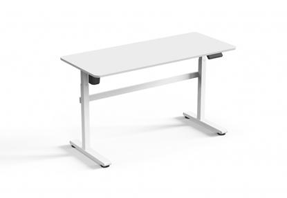 Изображение Up Up Balder Adjustable Height Table, White