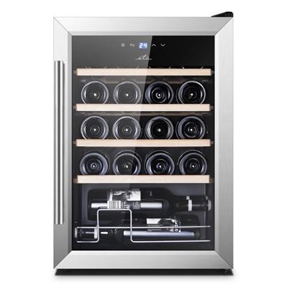 Attēls no ETA Wine Cooler  ETA953190010G Energy efficiency class G, Free standing, Bottles capacity 20, Black