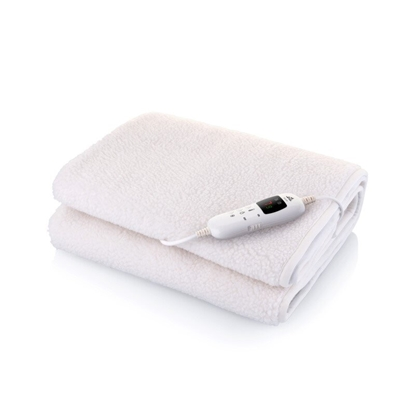 Attēls no ETA Electric Heated Blanket 532590000  Number of heating levels 9, Number of persons 1, Washable, Remote control,  Fleece & Polyester, 60 W, Beige