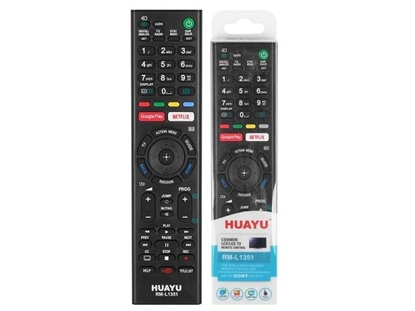 Picture of HQ LXH1351 TV remote control SONY LCD / LED RM-L1351 / Black