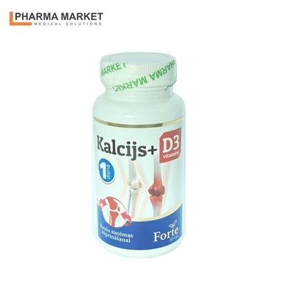 Изображение PMS Uztura bagātinātājs KALCIJS + D3 N30 tabletes