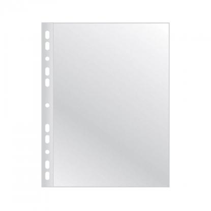 Attēls no AD Class PUNCHED POCKET Cristal Clear A5 40 micr., pouch 100 pcs