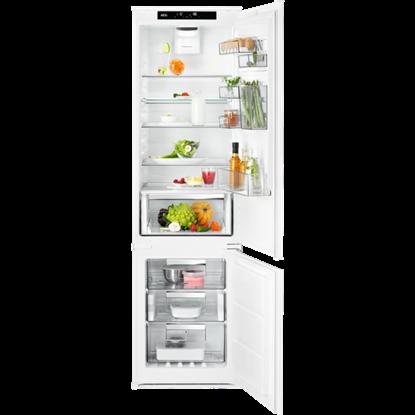 Изображение AEG iebūv. ledusskapis ar saldētavu, 188.4 cm, E