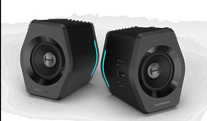 Изображение Edifier Gaming Speakers G2000 Bluetooth/USB/3.5mm AUX, Bluetooth version 4.2, 32 W, Wireless/Wired, Black