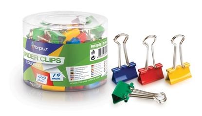 Изображение Forpus clips, 19mm, color (40) 1105-007