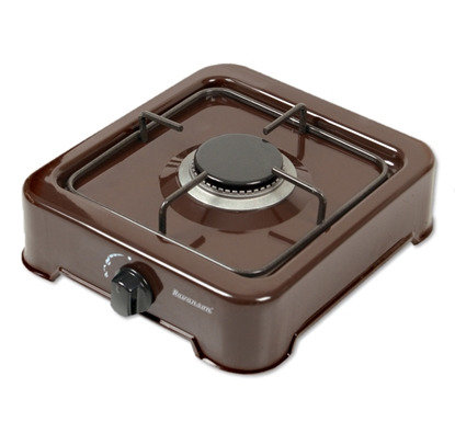 Изображение 1-burner gas cooker Ravanson K-01BR (Brown)