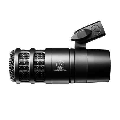 Attēls no Audio Technica Hypercardioid Dynamic Podcast Microphone AT2040 Black