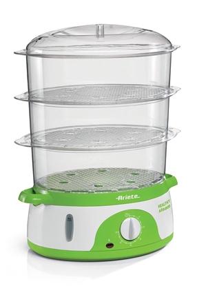 Picture of ARIETE 911 B-healthy Steam steam cooker 800W 9l Green, White