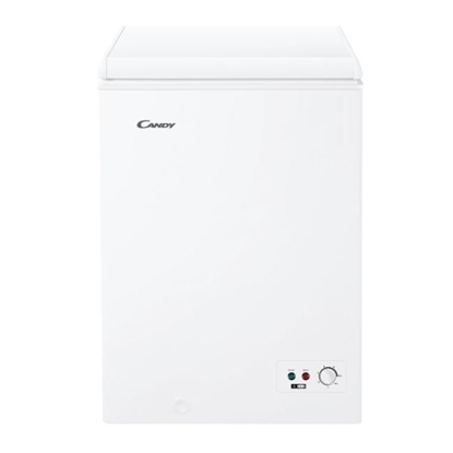 Изображение Candy Freezer CCHH 100 Energy efficiency class F, Chest, Free standing, Height 84.5 cm, Total net capacity 97 L, White