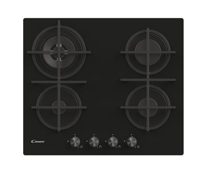 Изображение Candy CDK6GR4PBB Black Built-in 59.5 cm Gas 4 zone(s)