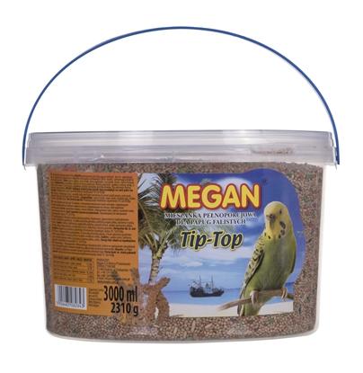 Изображение MEGAN Pokarm dla papużki falistej 3l