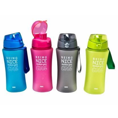 Изображение Pudele sporta plastmasas 480ml 4-krāsas